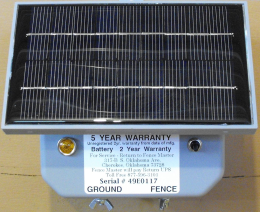 6v Solar Battery Fence Charger